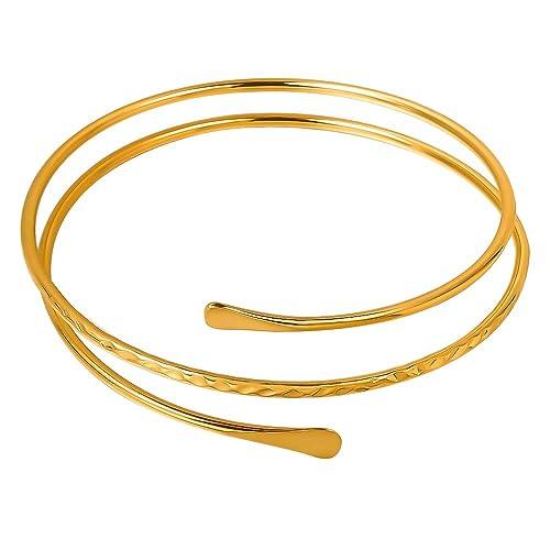 MANZHEN Simple Ocean Wave Bracelet Adjustable Sea Wave Jewelry for Girls